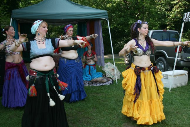 Photo of belly dancers